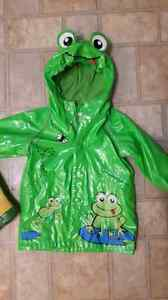18-24 month TCP raincoat and size 7 rain boots London Ontario image 2