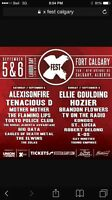 2 Tickets for X Fest in Calgary Sept 5.6