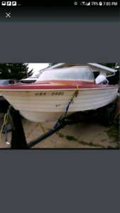Boat Only For Sale $400 w/seats or $300 w/No seats