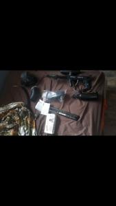 Package deal paintball gun!