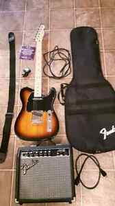 Set of Squire Telecaster 2014