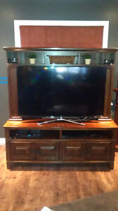 Solid cherry Entertainment unit London Ontario image 1