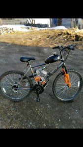 "26"" Mountain Bike with engine kit"