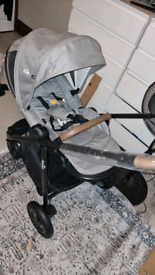 New Joie versatrax complete travel system pushchair carseat carrycot
