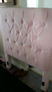 Girls Pink Head Board