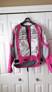 Icon motorcycle jacket ladies xl