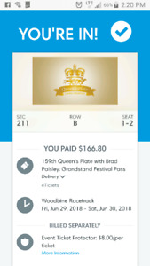 Queen's Plate: Grandstand Festival Passes