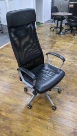 Designer computer desk gaming chair