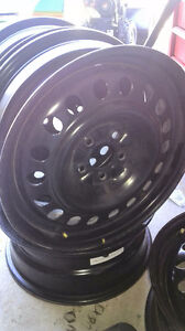 """17"""" look brand new steel rims of four 5/108"""