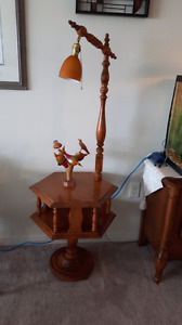 Table with Lamp