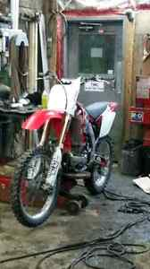 03 crf450r trade for mountain sled Williams Lake Cariboo Area image 2