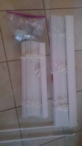 Bouclair Faux Wood Blinds Two Blinds $25 total
