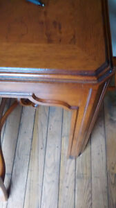 Dining Room Table with 12 Queen Anne Chairs from the Art Shoppe Oakville / Halton Region Toronto (GTA) image 3
