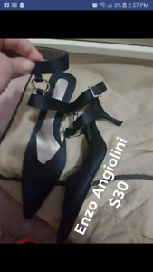 GENTLY USED LADIES SHOES