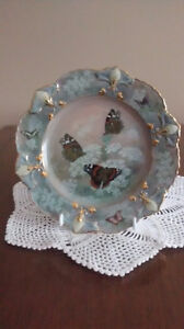 "Collector Plate ""Enchanted Wings"""