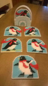 NEW/HANDMADE Christmas Coasters