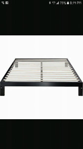 ISO queen size bed frame