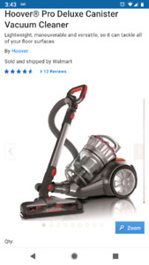 Hoover  Pro Deluxe - excellent suction