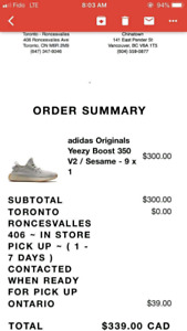 Yeezy 350 sesame size Us 9 need gone ASAP! Under retail