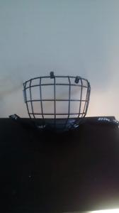 Grille de casque de hockey