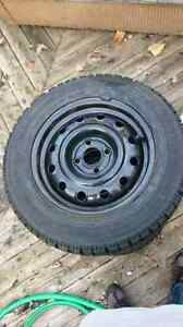 Goodyear Winter Tires with rims 175/65R14 London Ontario image 5