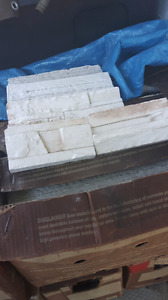 Cultured stone for fireplaces or outside wall on house