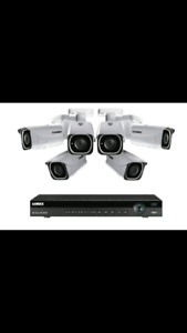 Cameras security 700$ Value of 2000$!!