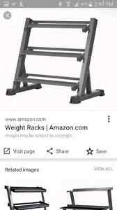 weight rack for dumbells