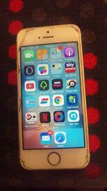 Iphone 5s good condition, 16gb virgin media, ee, orange, t mobile
