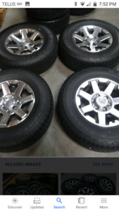 WANTED Toyota 4 runner Tacoma rim's 17 in plus rad