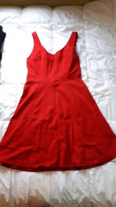 Red Tristan Party Dress