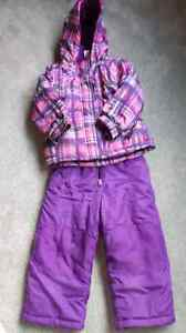 Girls Snow Suit Size 3
