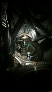 Iso replace ment forks and shock