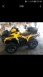 2015 can am outlander xt