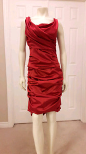 Stunning satin evening gown $75 obo