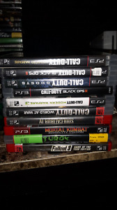 PS3 GAMES NEED GONE ASAP 40 OBO
