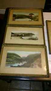 Circa 1930s hand painted photos for sale