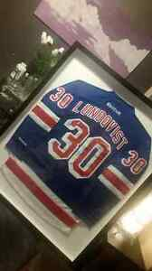 Lundqvist New York Rangers Signed Jersey $500 OBO