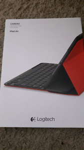 Logitech iPad air keyboard case (on hold)