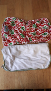 Cloth Diapers assortment.  Lightly used