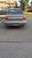 2003 Mitsubishi Lancer ES with Emissions AS IS for sale