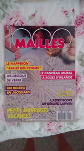 Tricot/Knitting! 100 Mailles - Juin/June 1989