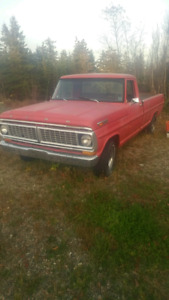 1969 Ford Truck in good condition for year!
