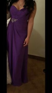 Bridesmaid/prom dress/robe dame/demoiselle d'honneur/bal