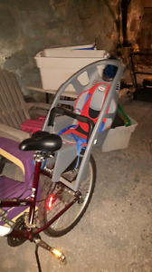 Child's bike seats