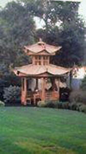 GAZEBO!! Unique one of a Kind 17ft tall