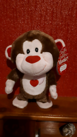 Singing and dancing monkey battery operated