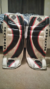 "32"" koho 580 k series goalie  pads"