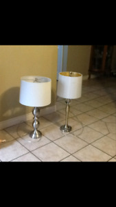 2 Different Lamps - $25 each