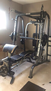 Home Gym Equipment - workout exercises with weights